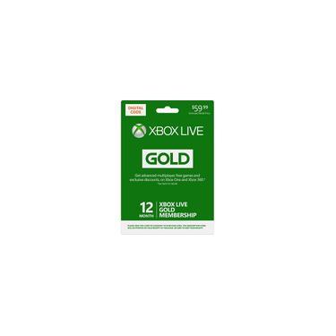 Microsoft - Xbox Live 12 meses Gold [Digital]