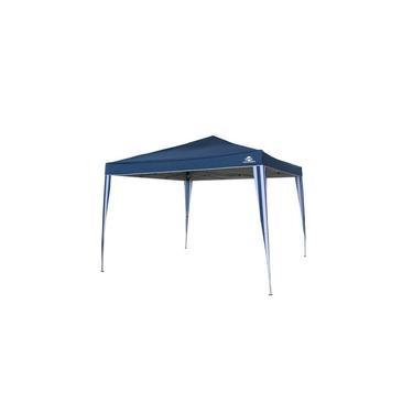 Tenda Gazebo 3x3 metros Articulado Guepardo Pratiko Azul