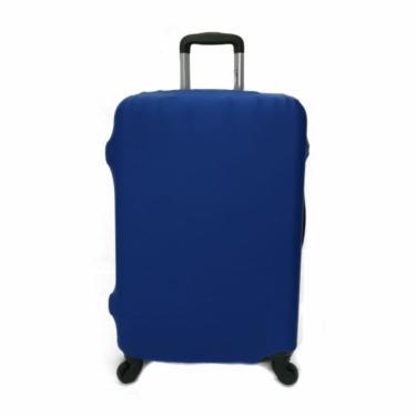 Capa Protetora Mala Viagem Grande Elastano Azul ys27013