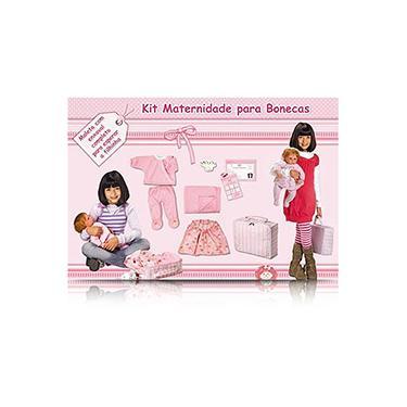 Imagem de Kit Maternidade para Bonecas Tam M - Laço de Fita