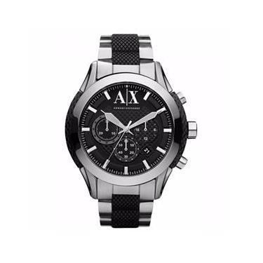 839af0c91db Relógio Armani Exchange Ax Calendário Cronograph Uax1214z Masculino