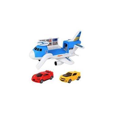 Imagem de Brinquedo Rescue Nation Kit Avião Cargueiro Da Toyng 43625