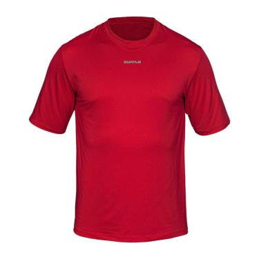 Camiseta Active Fresh Mc - Masculino Curtlo GG Vermelho
