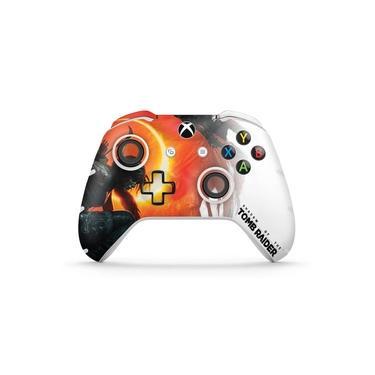 Skin Adesivo para Xbox One Slim X Controle - Shadow Of The Tomb Raider