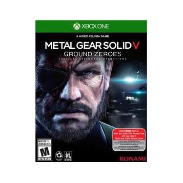 Jogo Metal Gear Solid V: Ground Zeroes Konami Xone