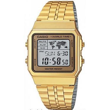 6e83f7ee650 Lux GoldenComprar · Relógio Masculino Casio Vintage World A500WGA9DF -  Dourado