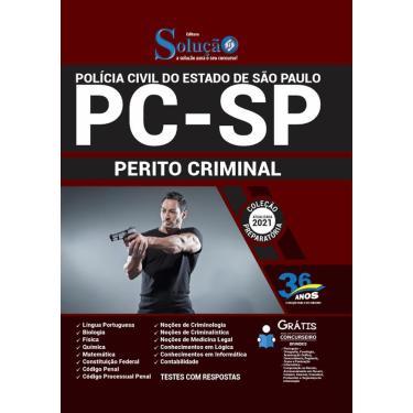 Imagem de Apostila Pc Sp - Perito Criminal Da Polícia Civil São Paulo
