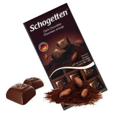 Schogetten - Dark Chocolate - Importado da Alemanha - 100g