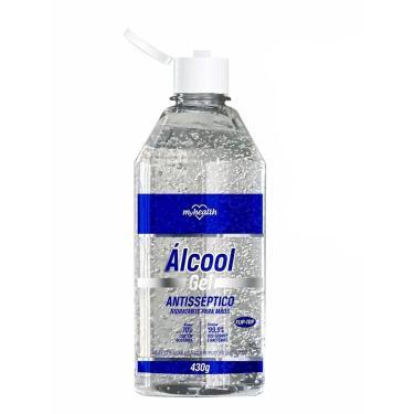 Álcool Gel My Health 70% com 430g Aeroflex 430g