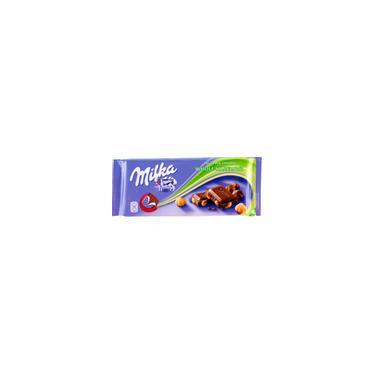 Chocolate Milka Whole Hazelnut 100G