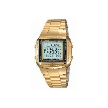 864d3688de5 Relógio Masculino Digital Casio DB360G9ADF - Dourado