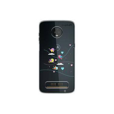 Capa para Moto Z3 Play - Corações 3