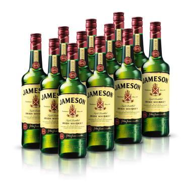 Kit Whisky Jameson 750ml - 12 Unidades
