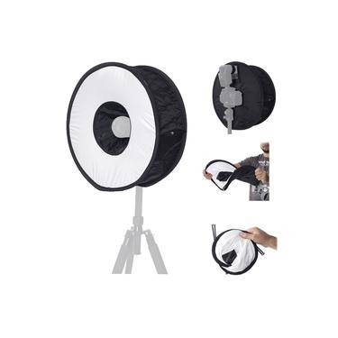 Softbox para flash speedlight dedicado - Ring speedlight