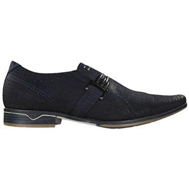 Sapato Social Masculino, Pegada, Blue, 41