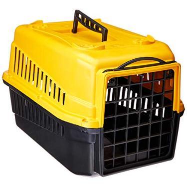 Caixa Transporte Mec Podyum 1, Amarelo Mecpet para Cães
