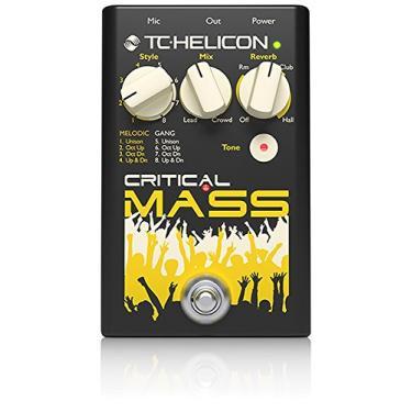 Imagem de TC Helicon Critical Mass Pedal para vocal/voz