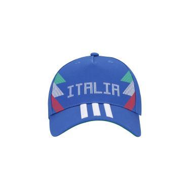 Boné Aba Curva Itália 3S 2018 adidas - Snapback - Adulto - Azul Verde adidas 79215a48290