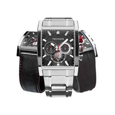 8a80df25ce4 Relógio Masculino Technos Analógico Troca Pulseira OS2AAF 1P