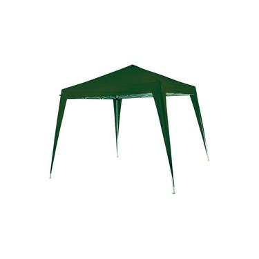 Tenda Gazebo 2,4x3 metros Articulada Nautika Duxx Verde