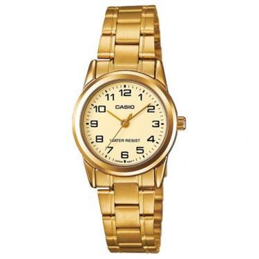 eb34f9d43f1 Relógio de Pulso Feminino Lux Golden