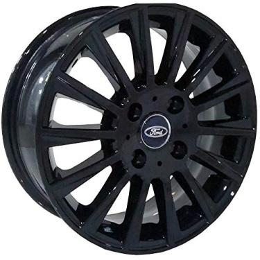 Jogo de Rodas Ford New Fiesta Aro 15 x 6,0 4X108 ET36 R66 Black Piano