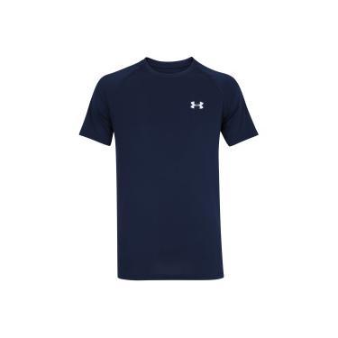 de8f0d43eb Camiseta Under Armour Tech - Masculina - AZUL ESC BRANCO Under Armour