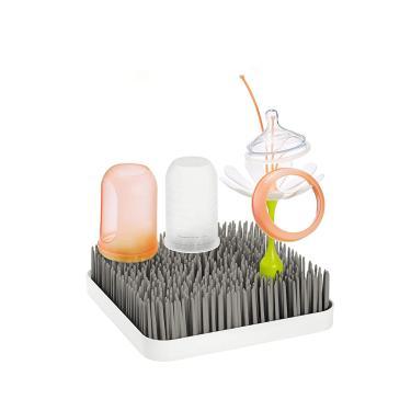 Imagem de Boon Grass Countertop Baby Bottle Drying Rack, Cinza