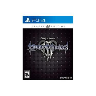 Kingdom Hearts III 3 Deluxe Edition - PS4