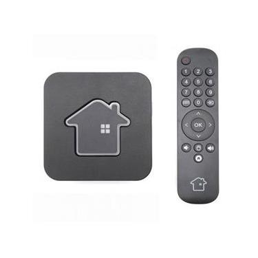 Receptor Htv H6 4K Ultra HD Wi-Fi/LAN com Bluetooth HDMI USB - Preto