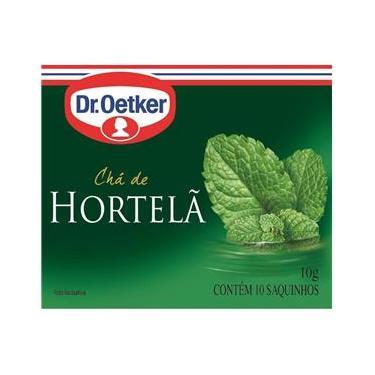 Chá De Hortelã - Dr. Oetker Kit C/ 4 Unidades