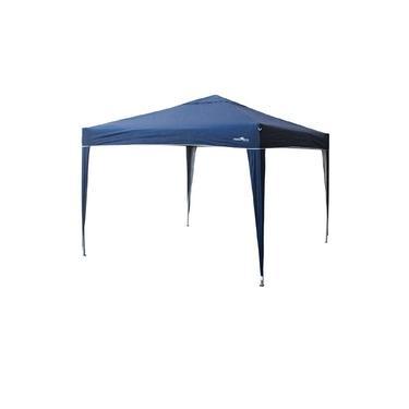 Imagem de Gazebo Tenda Nautika Trixx 3x3 Articulada Aluminizado Proteção UV 50+ Azul Praia Lazer Camping