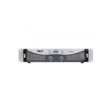 Amplificador Profissional Classe Ab 300w Max320 Cinza Skp