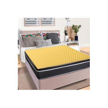 Imagem de Pillow Top Queen Massageador Casca de Ovo Espuma D23 - BF Colchões