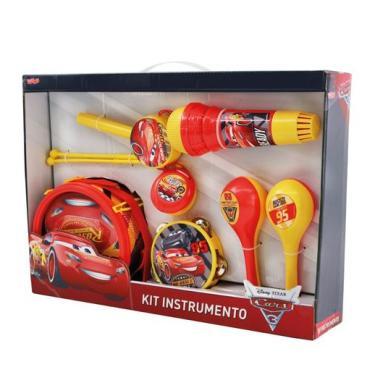 Imagem de Kit Instrumento Conjunto Musical Carros 3 - Toyng