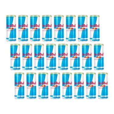 Energético Red Bull Sugarfree 24 Unidades - Zero Açúcar 250ml
