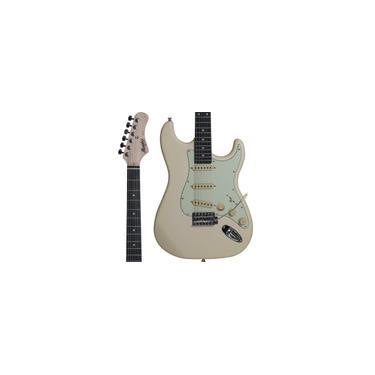Imagem de Guitarra Strato Memphis by Tagima MG30 Olympic White Satin
