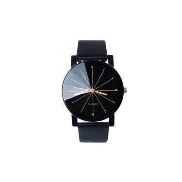 9c165c6415f Relógio De Pulso Aço Inoxidável Moda Quartz Sports
