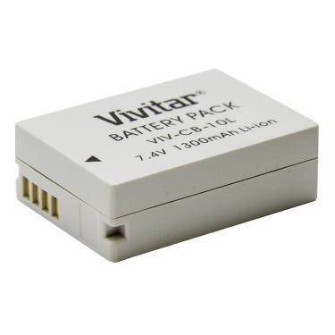Bateria recarregável equiv a Canon mod NB10L Vvitar VIVCB10L