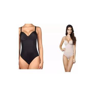 Cinta Modeladora Body Com Bojo Alta Compressão