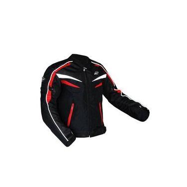 Jaqueta Motoqueiro Helt Stroke Impermeável C/ Proteção E Forro Removível Tamanho G