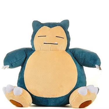 Imagem de Brinquedo de Pelúcia Pokémon - Bichinhos de Pelúcia (Snorlax - 25cm)