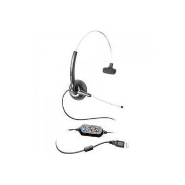 Fone Headset Stile Compact Voip Preto Felitron