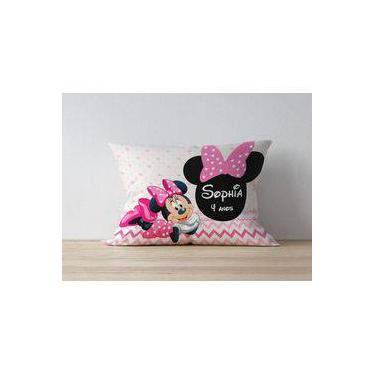 Almofada Personalizada Minnie Rosa
