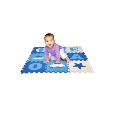 Imagem de Tapete De Bebê Eva Vogais Meninos - Nig Brinquedos