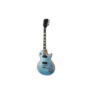 Imagem de Guitarra Gibson Les Paul Classic Player Plus 2018 Satin Ocean Blue