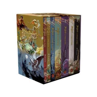 Box Livros J.K. Rowling - Harry Potter