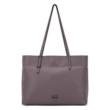Bolsas de ombro femininas de couro PU bolsa de mão com vários bolsos, Akl2270#k733#512rose Taupe