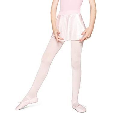 Meia-Calça, Ballet, Lobinha, Infantil Meninas, Branco Antartida, G