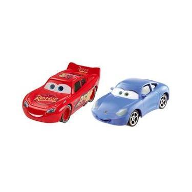 e6a02fcf3e4 Conjunto Carros Mattel Disney Carros 3 - Relâmpago McQueen e Sally